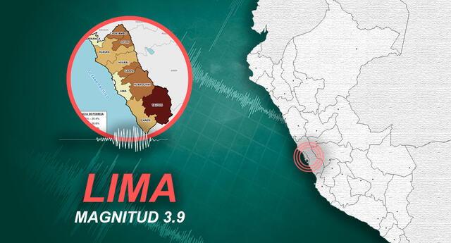 Sismo en Cañete se registró a las 12:22 de la tarde de este domingo, según IGP.