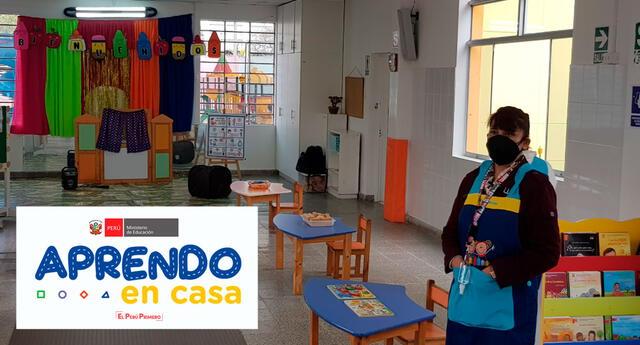 Aprendo en casa fue creado por el Minedu para los estudiantes tras la llegada del coronavirus