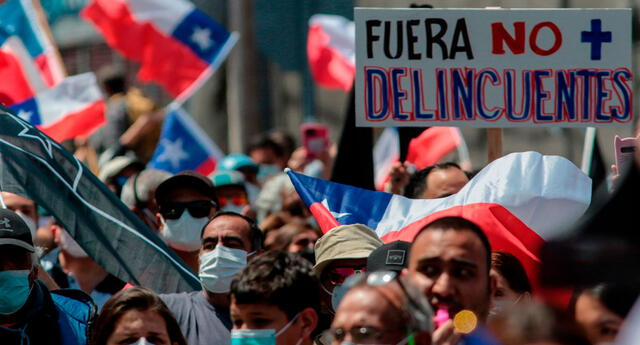 Los ciudadanos de Iquique piden que se vayan los extranjeros de la zona, pero la ONU los exhorta a cambiar de pensamiento.