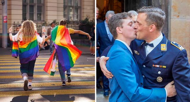 Desde el 2007, Suiza ha autorizado las uniones civiles entre personas del mismo sexo.