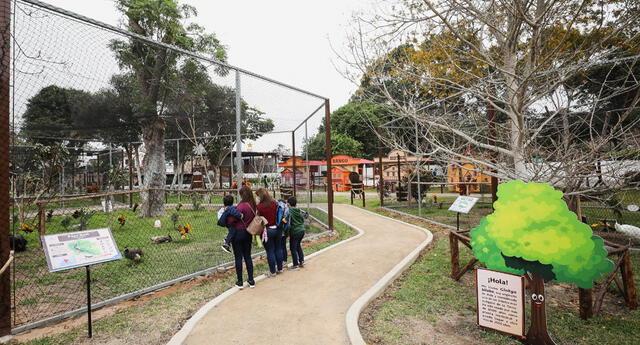 Parque de las Leyendas.