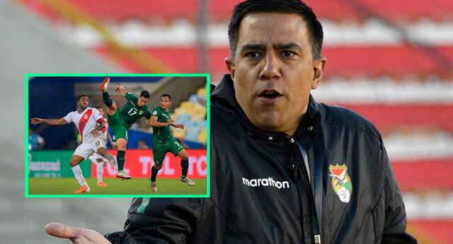 """Según manifestó Farías, su intención es formar dos equipos. """"Jugar tres partidos es difícil"""", dijo el DT de la selección boliviana."""
