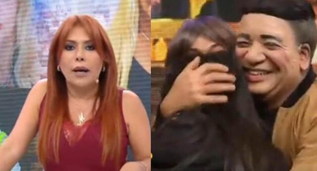 Magaly Medina le pareció un chiste la pedida de mano de Carlos Vílchez.