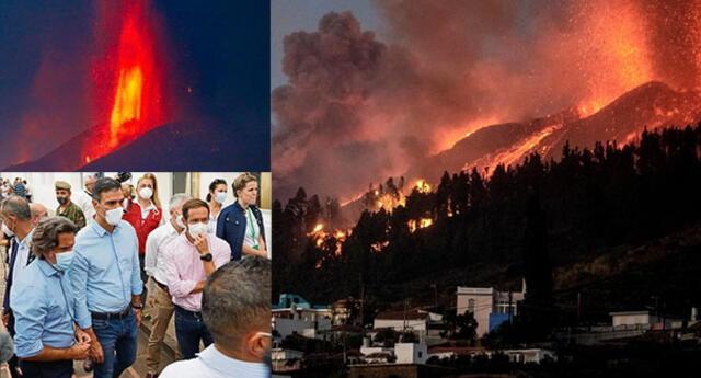 """España declara """"zona de desastre"""" a La Palma."""