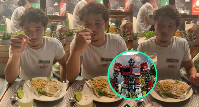 El actor Anthony Ramos se encuentra en la selva peruana con el equipo de Transformers filmando la nueva entrega, y aprovechó en probar el conocido insecto.