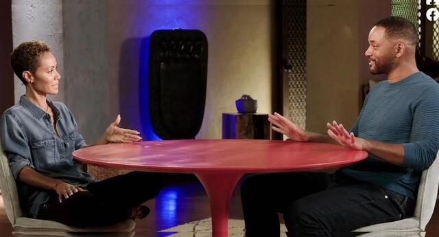 Will Smith tranquilo con su relación junto a Jada Pinkett.