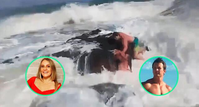 La tragedia fue capturada en un video por la propia esposa del entrenador.