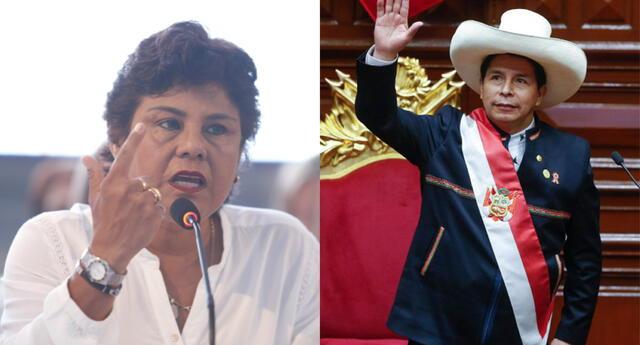 La congresista también criticó a los parlamentarios Guillermo Bermejo y Silvana Robles. Foto: Composición el Popular
