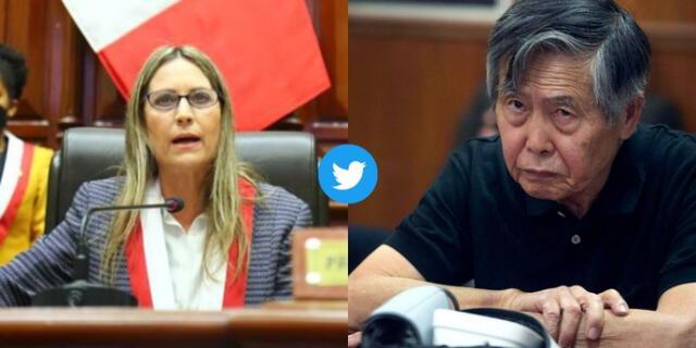 María del Carmen Alva pidió retirar el calificativo lanzado por un congresista de Acción Popular.