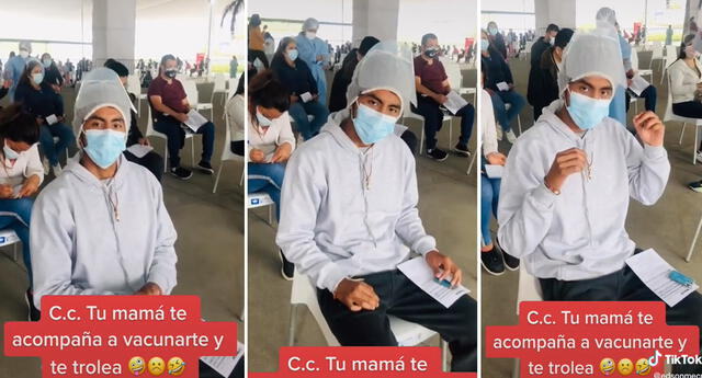 ¡En el momento exacto! Hijo es troleado por su mamá al afirmar que será vacunado contra la rabia.