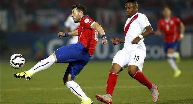 Jefferson Farfán fue el autor de la última victoria de Perú 1-0 ante Chile en Lima.