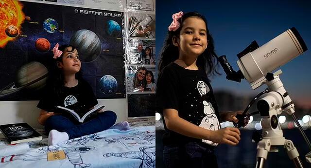Nicole Oliveira podría convertirse en la persona más joven del mundo en descubrir oficialmente un asteroide.