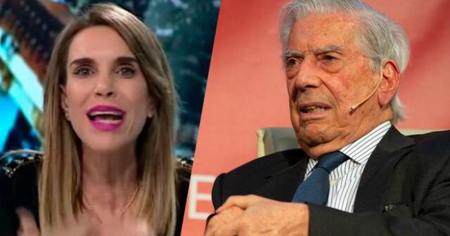 Le dijo de todo. La periodista no se quedó callada tras las polémicas declaraciones del escritor peruano.
