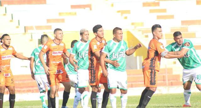 Caimanes y Estudiantes de Túcume tuvieron un partido parejo e igualaron 2-2.