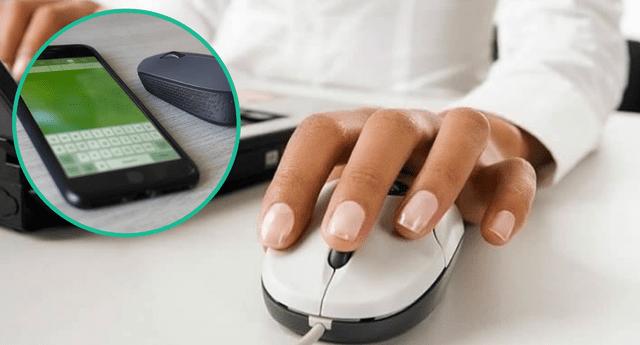 Necesitarás activar el Bluetooth de tu PC y celular.