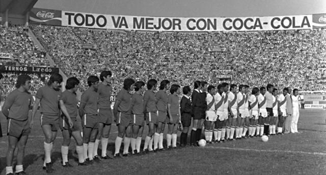 El 29 de abril de 1973 se comenzaron a escribir los encuentros eliminatorios entre Perú y Chile.