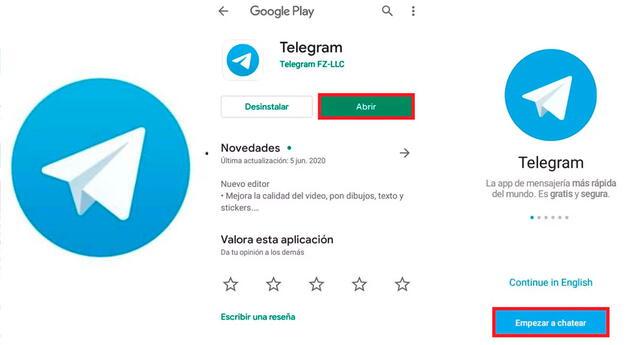 Conoce cómo puedes descargar Telegram en tu celular.