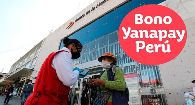 Conoce cómo inscribirte para las modalidades de pago del Bono Yanapay.
