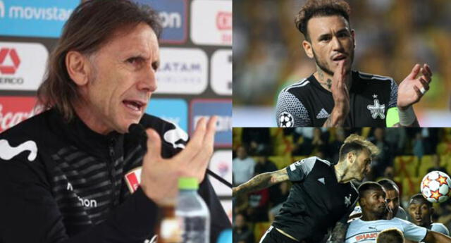 El técnico de la selección peruano se pronunció sobre Gustavo Dulanto.
