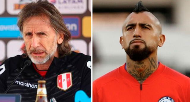 Ricardo Gareca no quiso entrar en detalles sobre las bajas que tendrá la selección de Chile para el Clásico del Pacífico.