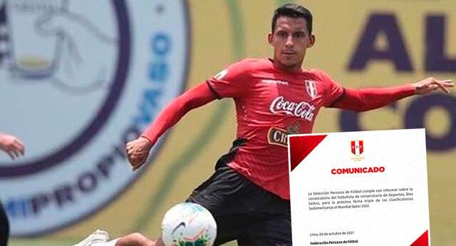 Alex Valera fue convocado este miércoles a la selección peruana.