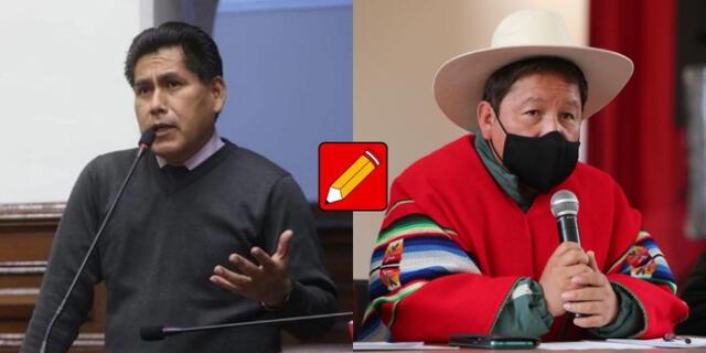Cutipa manifestó que Pedro Castillo, presidente de la República, es quien deba tomar las decisiones sobre Bellido Ugarte.