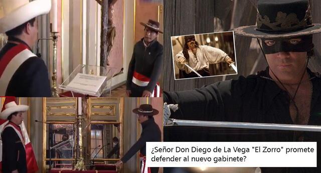 Juramentación de Víctor Maita llamó la atención en las redes sociales.