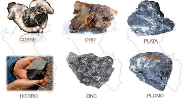 La Cordillera de los Andes es nuestra fuente principal de recursos naturales minerales.