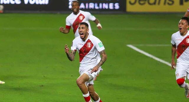Sergio Peña anotó el segundo de Perú