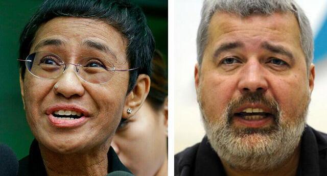 Los periodistas fueron reconocidos por su trabajo en Filipinas y Rusia.