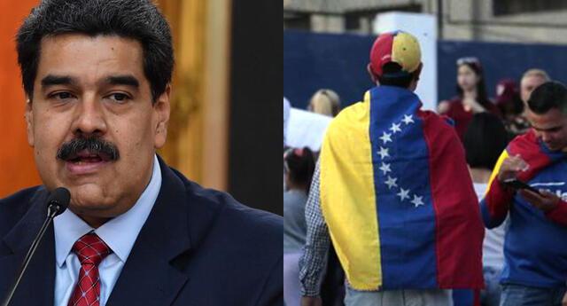 El mandatario envió contundente mensaje a migrantes venezolanos.