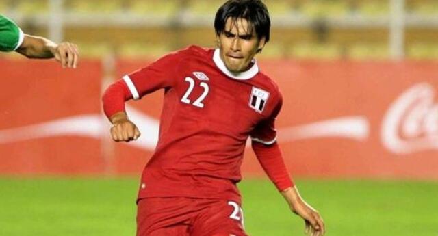 Retamoso es uno de los jugadores privilegiados de haber estado en el empate de Perú en La Paz ante Bolivia.