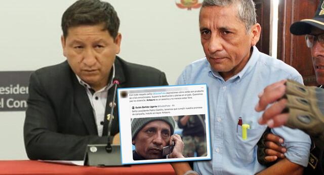 Bellido recibe ola de críticas por pedir indulto a Antauro Humala (Foto: GLR - John Reyes/Difusión)