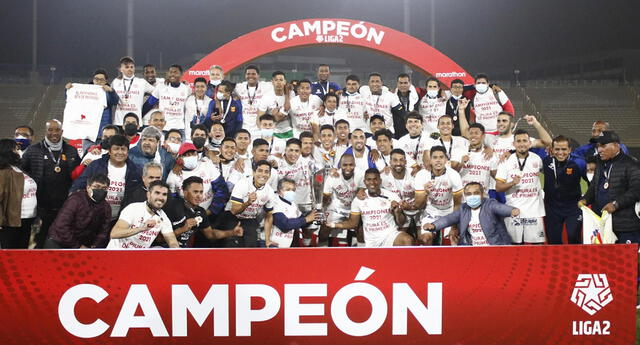 Atlético Grau se proclamó campeón de la Liga 2 de la mano del técnico  Jesús Oropesa