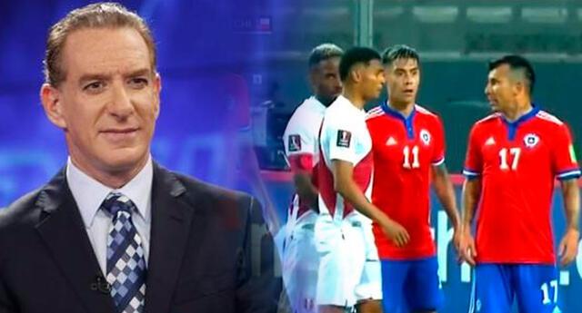 El periodista deportivo no anduvo con vueltas y pidió la expulsión de Marcos López y Eric Pulgar.