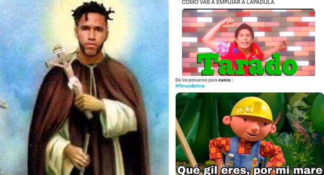 Los usuarios saludaron el desempeño de Pedro Gallese y Gianluca Lapadula durante el partido Perú vs. Bolivia.