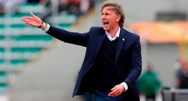 Gareca lamentó la derrota de Perú y ya piensa en Argentina.