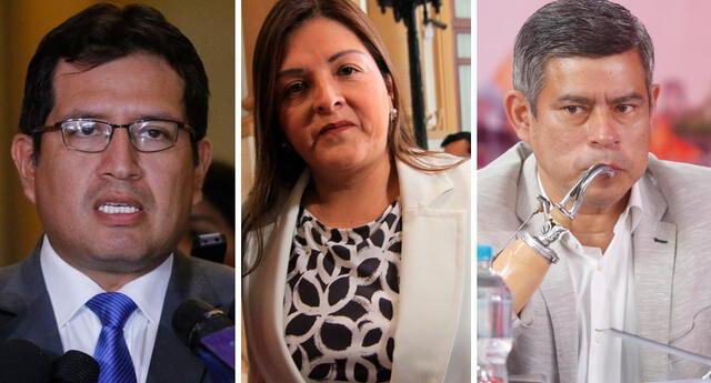 Roy Ventura, Karina Beteta y Luis Galarreta habrían sido beneficiados con maestrías pagadas con fondos públicos que provee la ONPE.