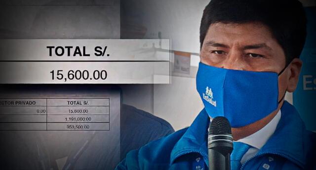 Mario Carhuapoma habría estado percibiendo doble remuneración como parte de EsSalud y profesor de San Marcos, según Punto Final.