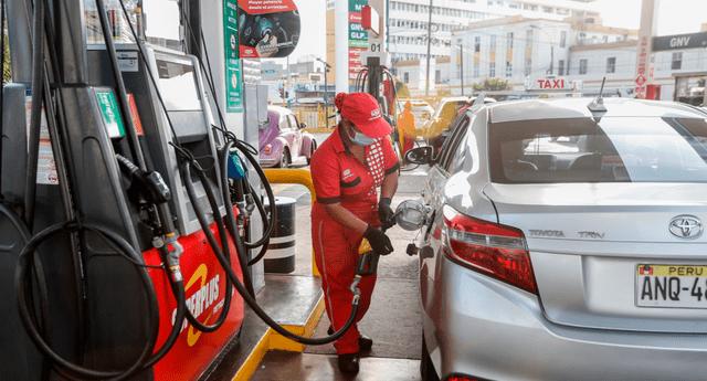 precios de combustibles en Lima Metropilitana