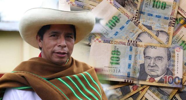 Pedro Castillo recibe casi 18 mil soles como presidente