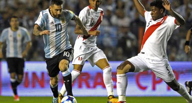 Argentina y Perú empataron 0-0 en  Buenos Aires en las Eliminatorias 2018.