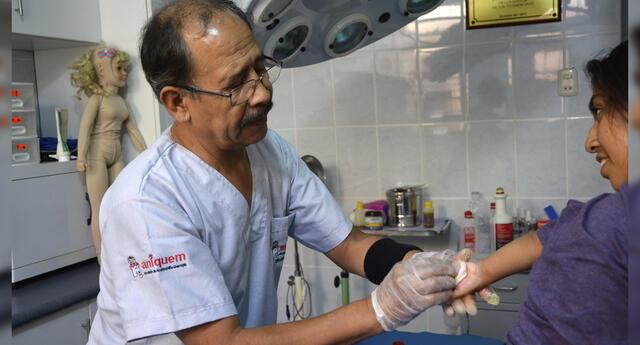 En Perú más de 15 mil niños sufren lesiones por quemaduras cada año.