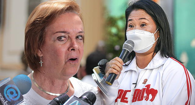 La exlegisladora cuestionó que la oposición, liderada por Keiko Fujimori, se enfrente con el Ejecutivo.
