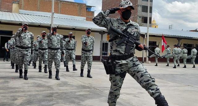 Grupo de operaciones especiales de la Oficina Regional Centro Huancayo