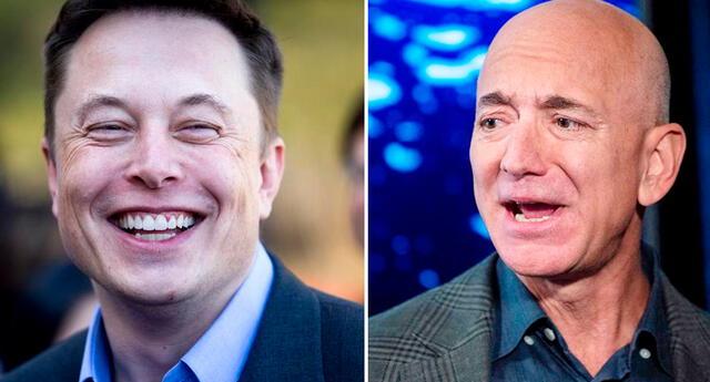 Hasta hace poco Bezos ocupaba el primer puesto de los más millonarios del planeta. Hoy le sigue a Musk en segundo lugar.