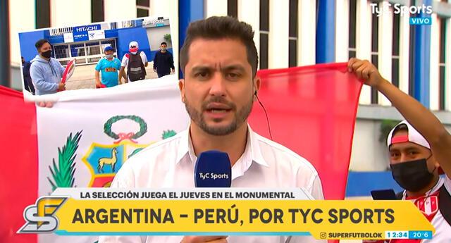 Hinchas peruanos pusieron el 'parche' y alentarán a la Bicolor pese a las adversidades.