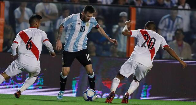 Perú y Argentina se vuelven a encontrar por las Eliminatorias.