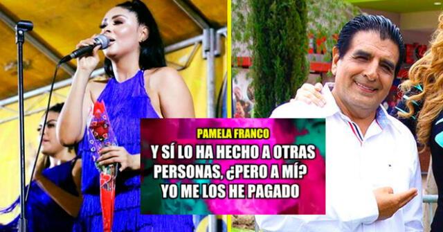 Pamela Franco arremetió contra Nílver Huárac nuevamente.