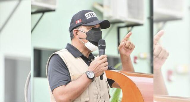 Luis Barranzuela se pronunció sobre presuntos vínculos con agrupación criminal de Junín.